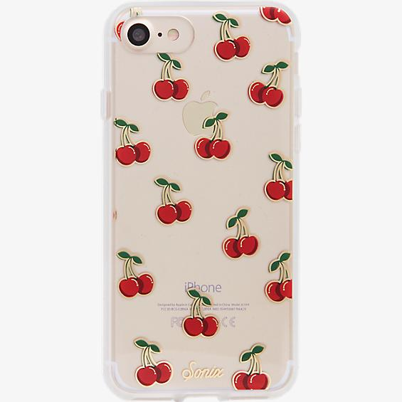 ClearCoat Case for iPhone 7 - Cherry Bomb/Red