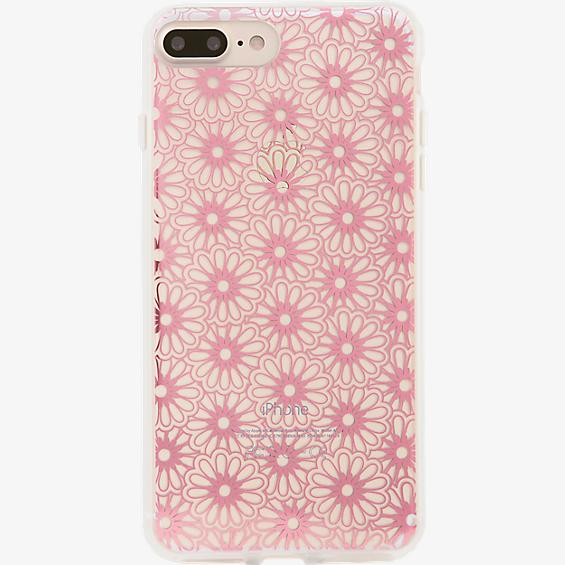 ClearCoat Case for iPhone 7 Plus - Berry Lace/Pink