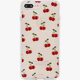 ClearCoat Case for iPhone 7 Plus - Cherry Bomb/Red