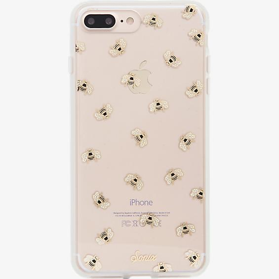 ClearCoat Case for iPhone 7 Plus - Honey Bee/Gold