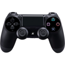 Sony DualShock 4 Wireless Controller - Black