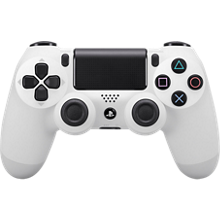 Sony DualShock 4 Wireless Controller - White