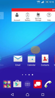 Email Setup on Your Sony Xperia® Z3v