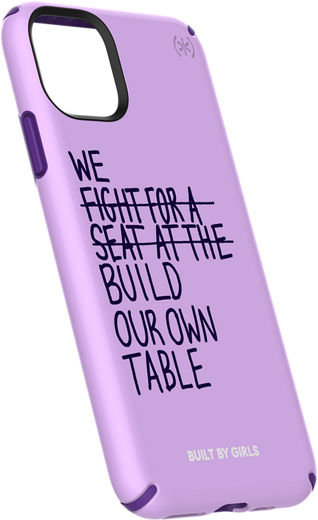 Speck Built By Girls Presidio Inked Case For Iphone 11 Pro Max Acai Purple Verizon