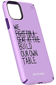 Speck Built By Girls Presidio Inked Case For Iphone 11 Acai Purple Verizon