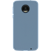 CandyShell Case for Moto Z Droid - Clear Rainstorm Blue