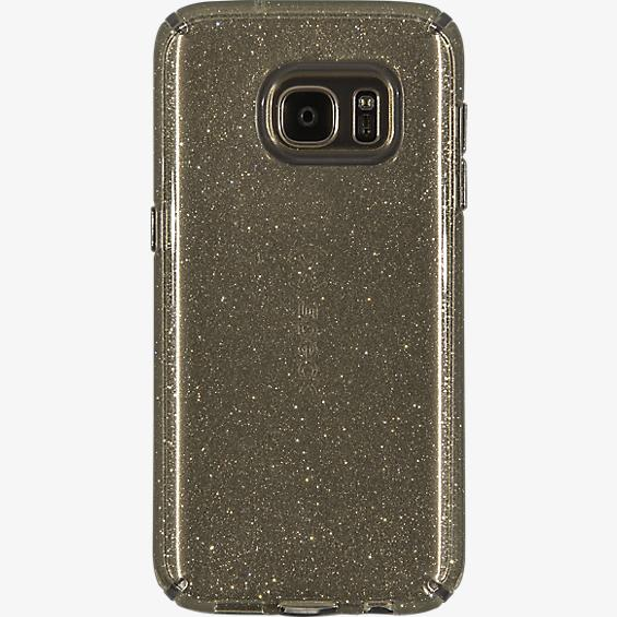 CandyShell Case for Galaxy S7 - Clear Gold Glitter