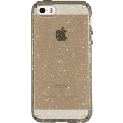 CandyShell Case for iPhone 5/5s/SE -  Clear Gold Glitter