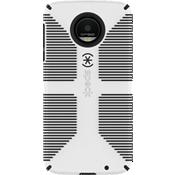 CandyShell Grip Case for Moto Z Droid - White/Black