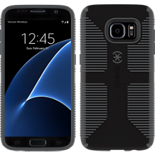 CandyShell Grip for Samsung Galaxy S7- Black/Slate Grey