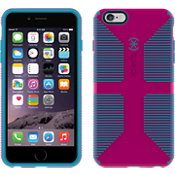 Speck CandyShell Grip for iPhone 6 Plus/6s Plus- Lipstick Pink/Jay Blue
