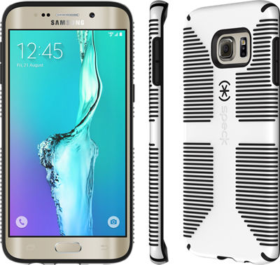 Speck CandyShell Grip for Samsung Galaxy S 6 edge+ - White/Black