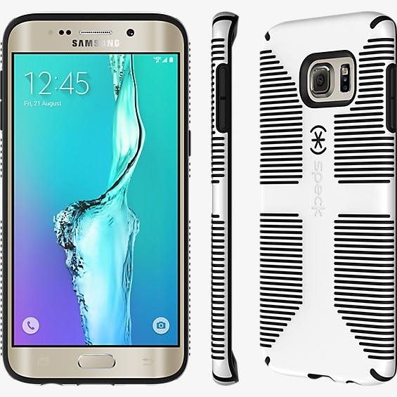 CandyShell Grip for Samsung Galaxy S 6 edge+ - White/Black