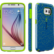 Speck CandyShell INKED for Samsung Galaxy S 6 - Speckle Blue/Tennis Ball Green