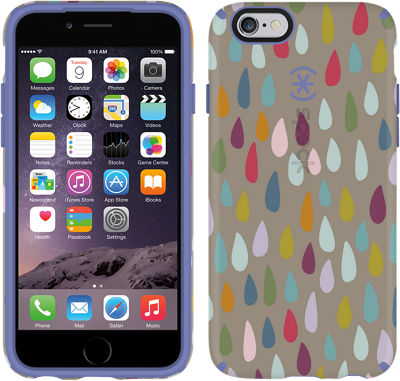 Speck CandyShell INKED for iPhone 6/6s - Rainbow Drop