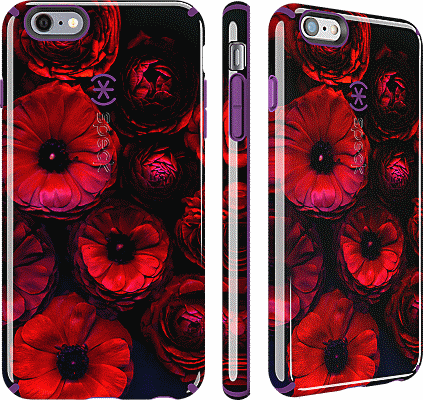 best sneakers 39acf 97a4e CandyShell Inked for iPhone 6 Plus/6s Plus - Moody Bloom