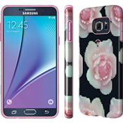 CandyShell INKED for Samsung Galaxy Note 5 - Pixel Rose/Pale Rose Pink