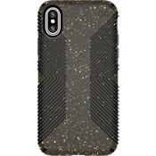 Presidio Grip Black Glitter for iPhone X - Black