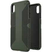 Presidio Grip Case for iPhone XS Max - Dusty Green/Brunswick Black
