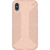 Presidio Grip Pink Glitter for iPhone X - Pink