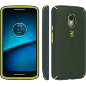 MightyShell for DROID Maxx 2 - Green/Yellow/Gray