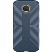 Presidio Grip Case for moto z2 force edition - Marine Blue/Twilight Blue