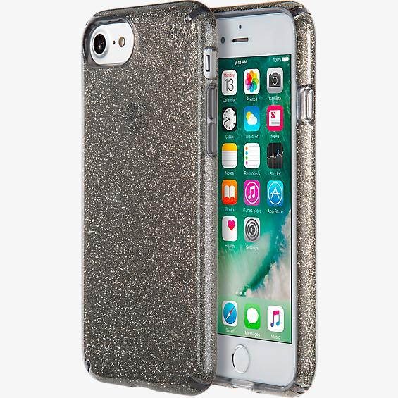 black glitter iphone 7 case
