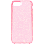 Presidio Clear Glitter Case for iPhone 7 -  Rose Pink/Gold