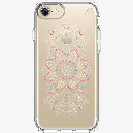 Presidio Clear Print Case for iPhone 7/6s/6 - Lace Mandala