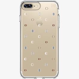Presidio Clear Print Case for iPhone 7 Plus/6s Plus/6 Plus -  Disco Dots