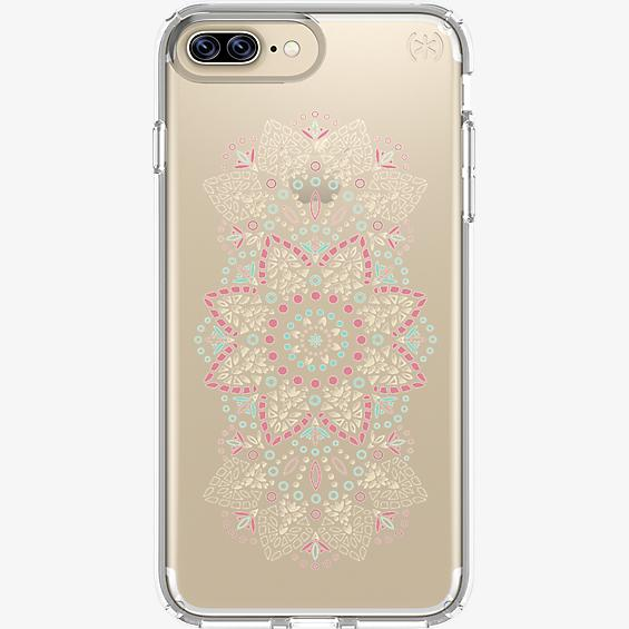 Presidio Clear Print Case for iPhone 7 Plus/6s Plus/6 Plus - Lace Mandala