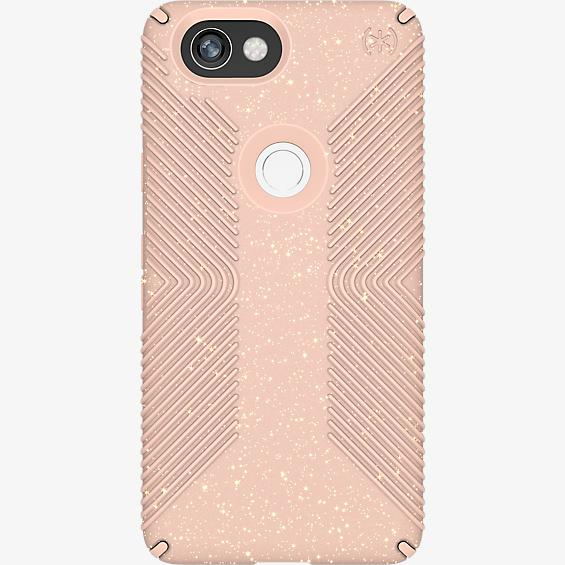 Presidio Grip + Glitter Case for Pixel 2 XL