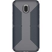 Presidio Grip Case for Galaxy 3rd Gen J3/J3V - Graphite Grey/Charcoal Grey