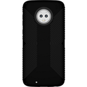 Presidio Grip Case for moto g6 - Black/Black