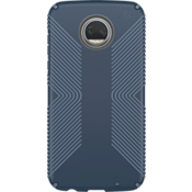Presidio Grip Case for Moto Z2 Play - Marine Blue/Twilight Blue