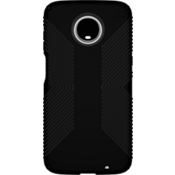 Presidio Grip Case for moto z3 - Black/Black