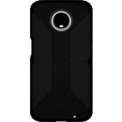 Presidio Grip Case for moto z3 - Black/Black