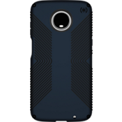 Presidio Grip Case for moto z3 - Eclipse Blue/Carbon Black