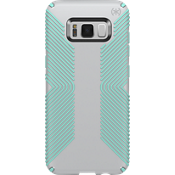 Presidio Grip Case for Galaxy S8 - Dolphin Grey/Aloe Green