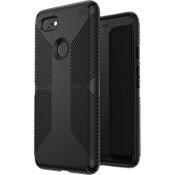Presidio Grip Case for Pixel 3 XL - Black/Black