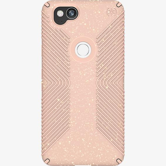 Presidio Grip + Glitter Case for Pixel 2