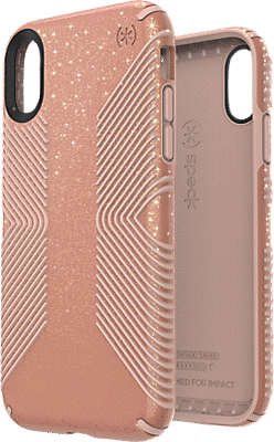 separation shoes abe5c 8bec7 Presidio Grip + Glitter Case for iPhone XR