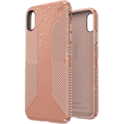 Presidio Grip + Glitter Case for iPhone XS Max - Bella Pink/Peach