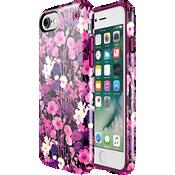 Presidio Inked Flower Etch Case for iPhone 7 - Pink Metallic/Magenta Pink