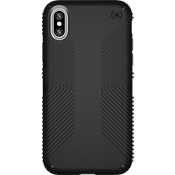 Presidio Grip for iPhone X - Black/Black