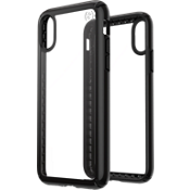 Presidio Show Case for iPhone XS/X - Clear/Black