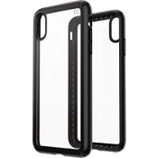 Presidio Show Case for iPhone XS Max - Clear/Black