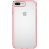 Presidio SHOW for iPhone 8 Plus/7 Plus/6s Plus/6 Plus - Clear/Rose Gold