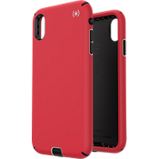 Presidio Sport Case for iPhone XS Max - Red/Grey/Black