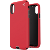 Presidio Sport Case for iPhone XR - Heartrate Red/Sidewalk Grey/Black